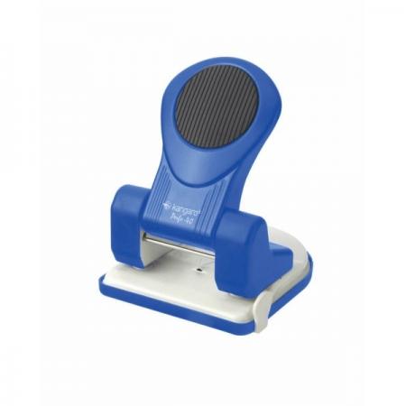 Perforator 40 coli albastru, KANGARO Perfo40