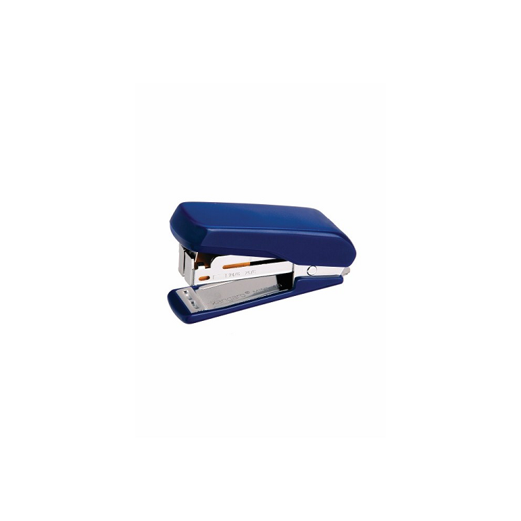 Capsator 24/6 20 coli albastru, KANGARO Mini-45