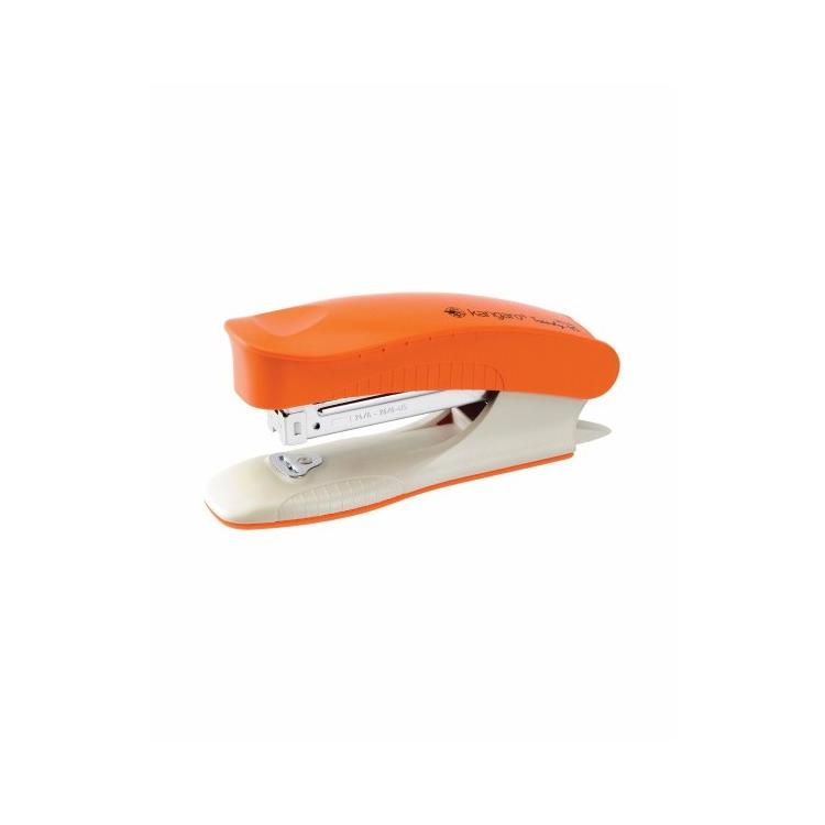 Capsator 24/6 25 coli portocaliu, KANGARO Trendy45
