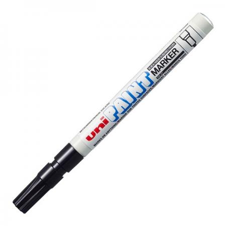 Marker cu vopsea 1.2mm negru, UNI PX-21