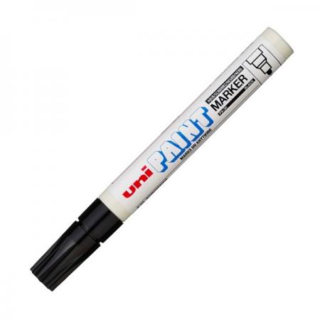 Marker cu vopsea 2.8mm negru, UNI PX-20