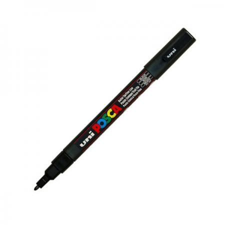Marker pentru desen 1.5mm negru, UNI Posca