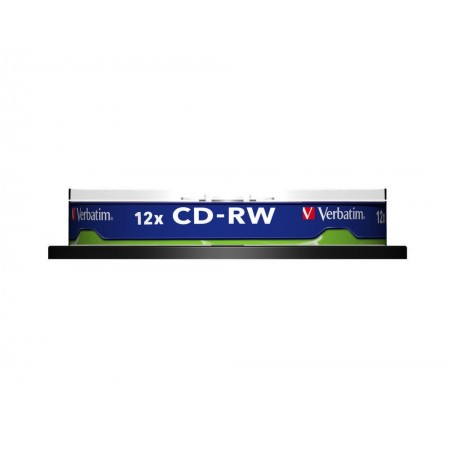 CD-RW 700Mb 12X 10 buc/cut, VERBATIM Scratch Resistant