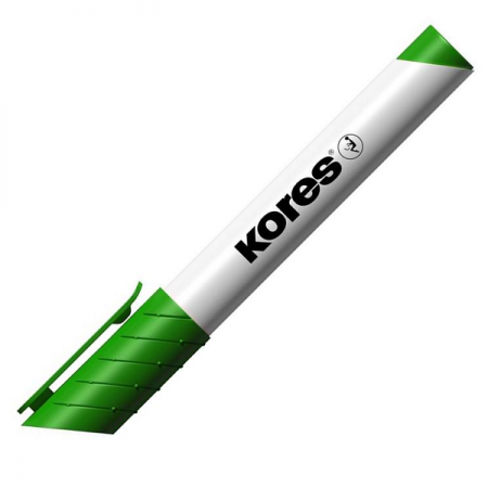 Marker whiteboard verde, KORES