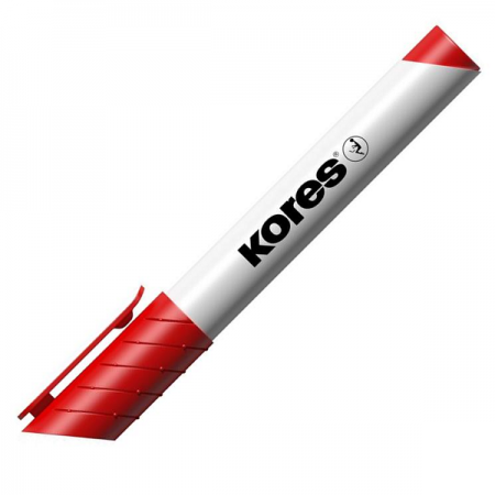 Marker whiteboard rosu, KORES