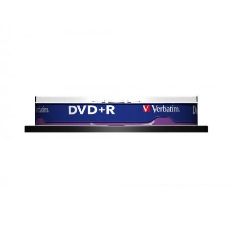 DVD+R 4.7Gb 16x 10 buc/cut, VERBATIM Matt Silver
