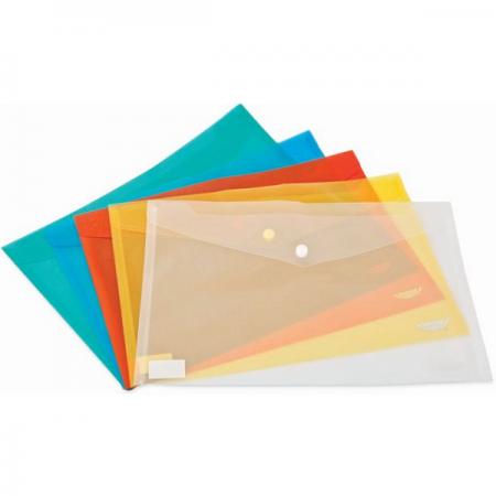 Mapa plastic cu capsa transparenta, NOKI