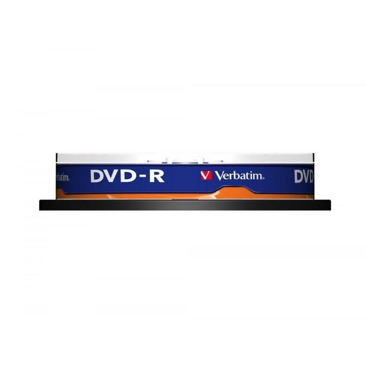 DVD-R 4.7Gb 16x 10 buc/cut, VERBATIM Matt Silver