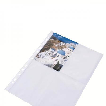 Folie protectie documente A4 fotografii 60mic cristal, DONAU