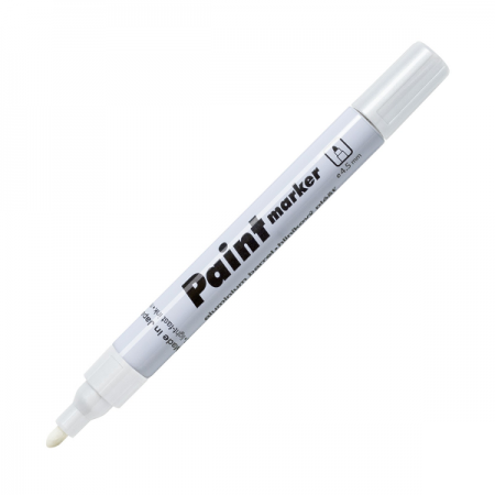 Marker cu vopsea 2.5mm alb, CENTROPEN 9210