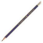 Creion grafit 2B cu radiera, FABER-CASTELL Goldfaber 1221