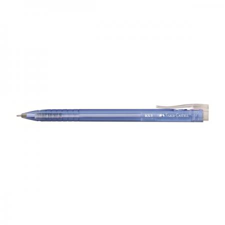 Pix cu gel 0.5mm albastru, FABER-CASTELL RX5