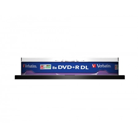 DVD+R 8.5Gb 8x double layer 10 buc/cut, VERBATIM Matt Silver