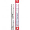 Rigla plastic 30cm, FABER-CASTELL